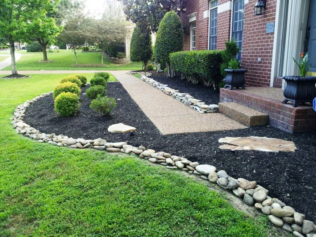 R alisations paysagements lacombe for Idea de deco garden rockery